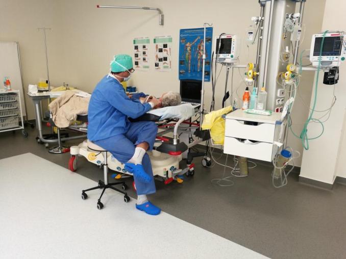 Une anesthésie locorégionale en SSPI